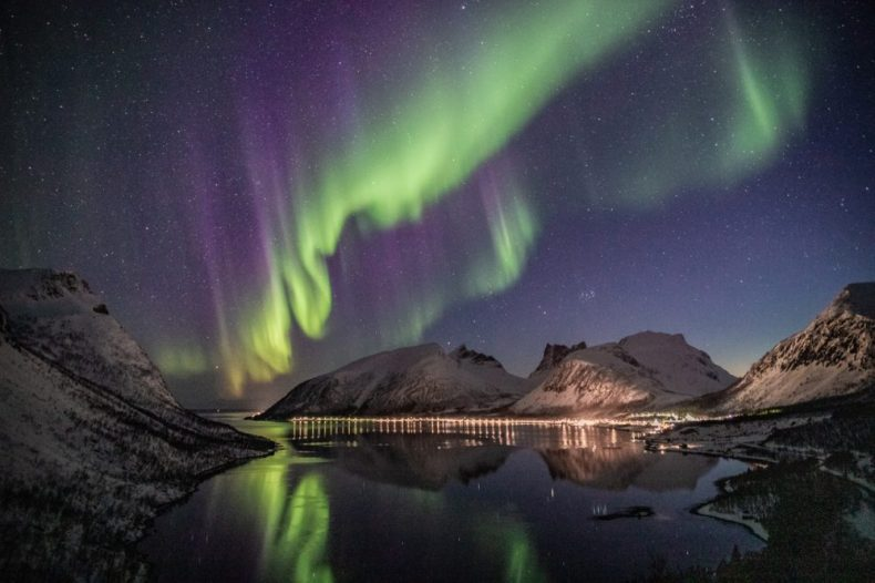 Where is the best place to see the northern lights? Somewhere north!