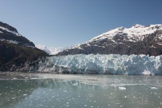 Cruising Margerie Glacier in Alaska
