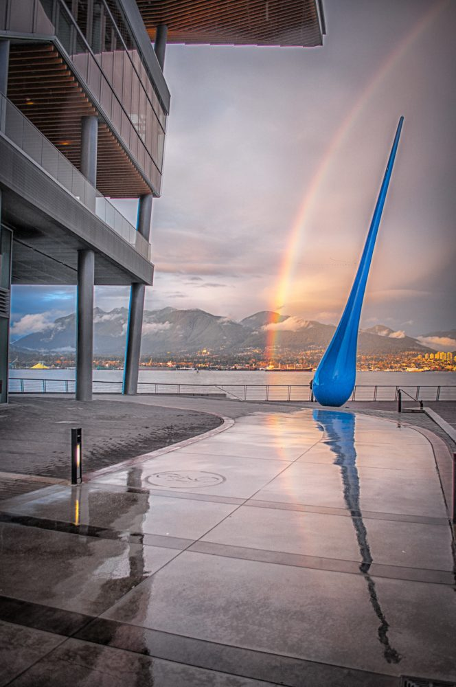 The Raindrop Monument