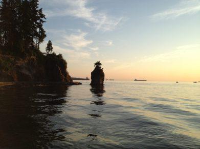 Siwash Rock, Stanley Park, Vancouver