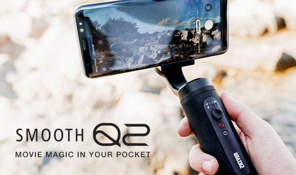 Smooth Q2 Smartphone Gimbal - Travel Addicts Best 2019