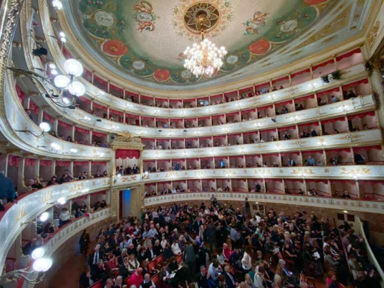 A Night at the Opera: Pavarotti Theatre in Modena, Italy