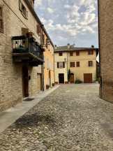 Castelvetro old medieval town
