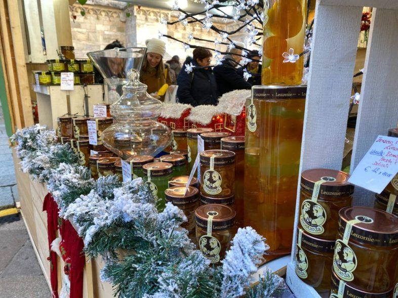 traditonal goods at the Milan Christmas Market