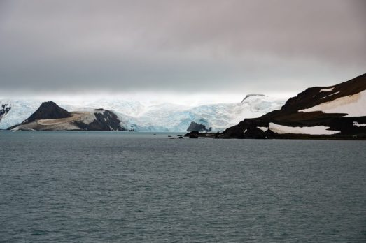 Glaciers in Antartica - Admiralty Bay on our Cruise to Antarctica