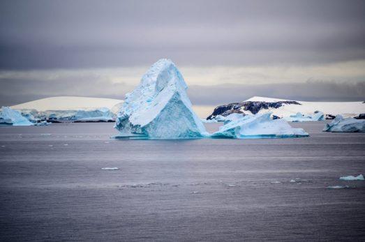 Cruising Charlotte bay Antarctica on the Coral Princess