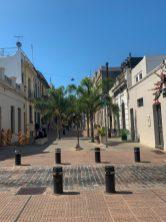 A street in Montevideo Uruguay