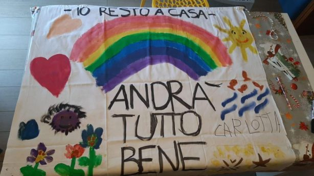 Andra Tutto Bene: What everyone is saying to each other, while living under lockdown and quarantine in italy