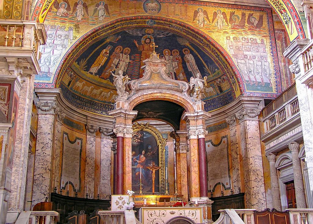Basilica Santa Maria Maggiore Altar_Rome_Italy