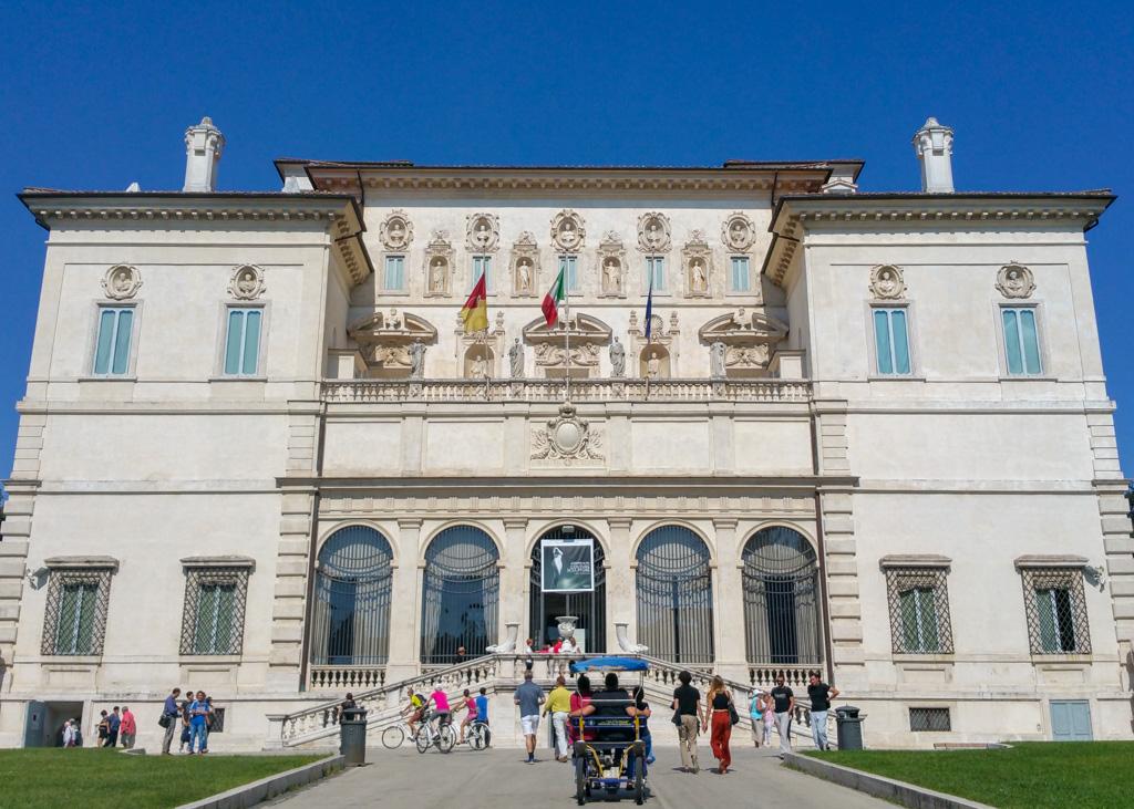 Galleria Borghese Facade_Rome_Italy