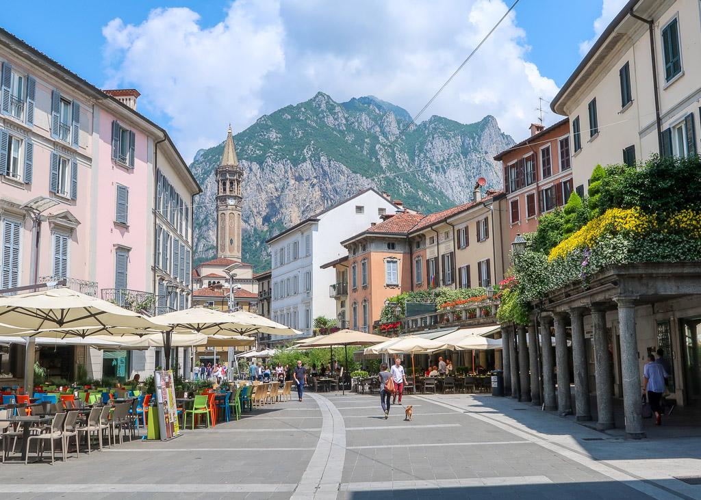 Lecco City Center_Lake Como_Italy
