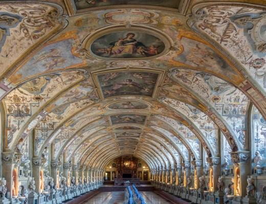 Residenz Hall Munich Bavaria Germany