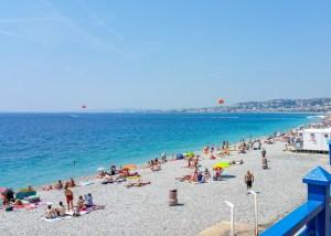 Nice Beach, Cote dAzur, France