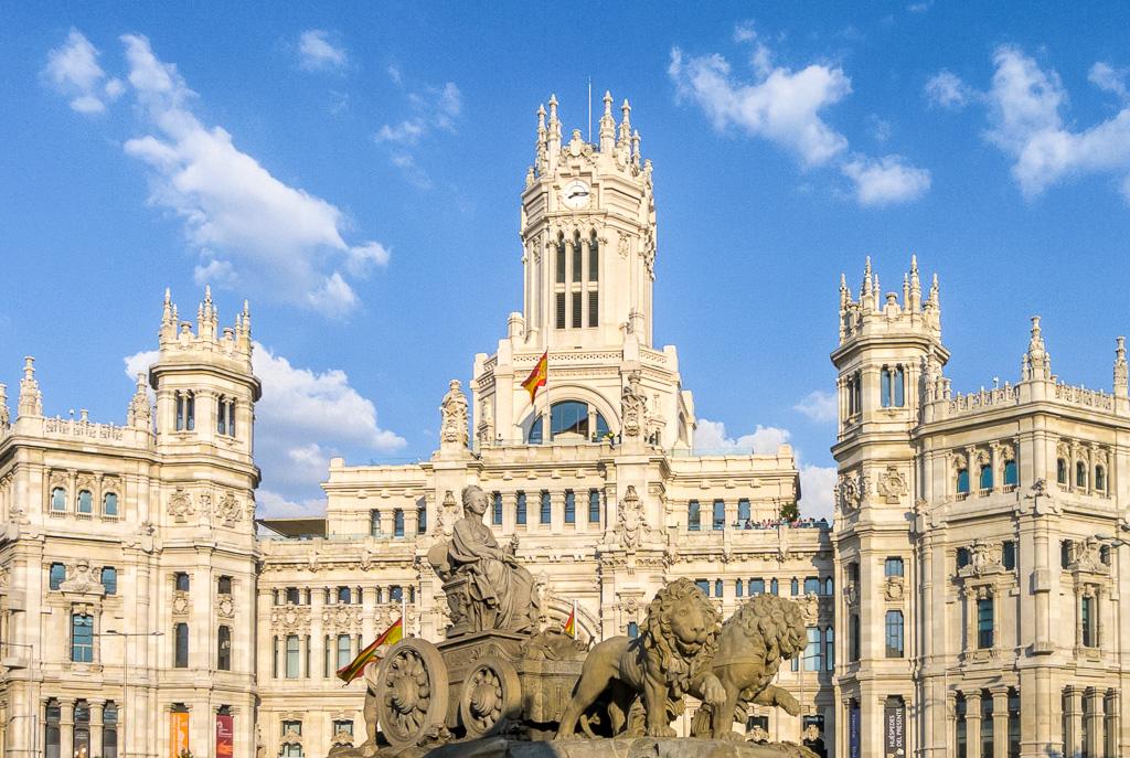 Madrid_Palacio de Cibeles