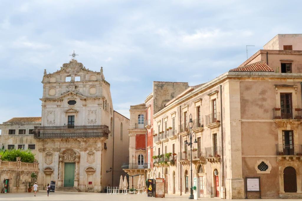 St Lucia alla Badia, Ortigia, Siracusa, Sicilia, Italia