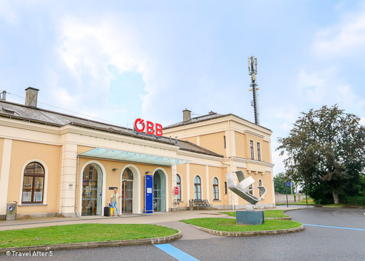 Melk Bahnhof, Melk, Austria, by Travel After 5