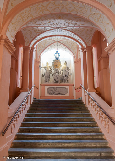 Imperial Staircase, Melk Abbey, Melk, Austria, by Travel After 5