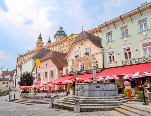 Rathausplatz, Melk, Austria, by Travel After 5