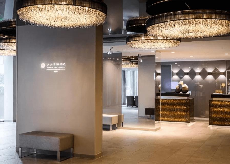 reception at pullman munich hotel