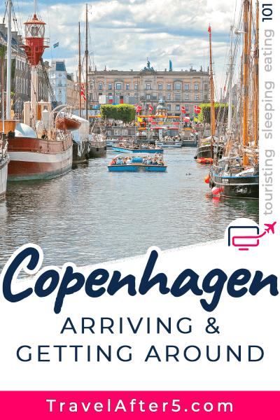 Pinterest Pin_Copenhagen 101, Denmark, by Travel After 5