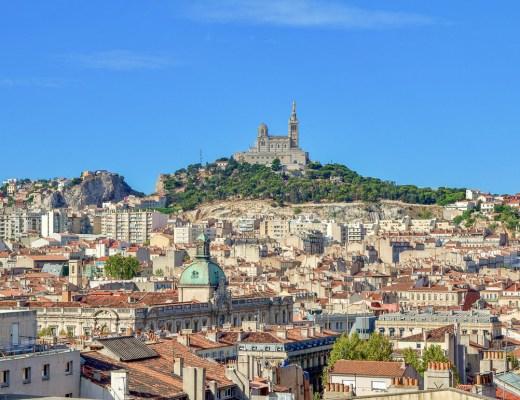 Notre-Dame de la Garde @ Marseille, France