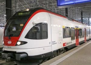 SBB Train @ Zurich, Switzerland