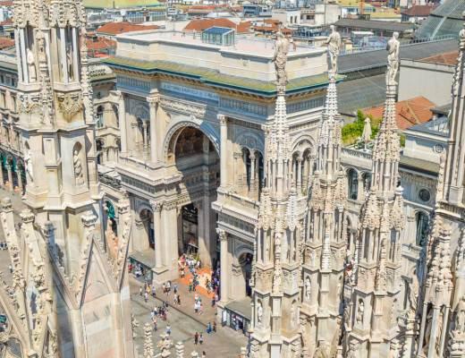 Piazza Duomo @ Milan, Italy