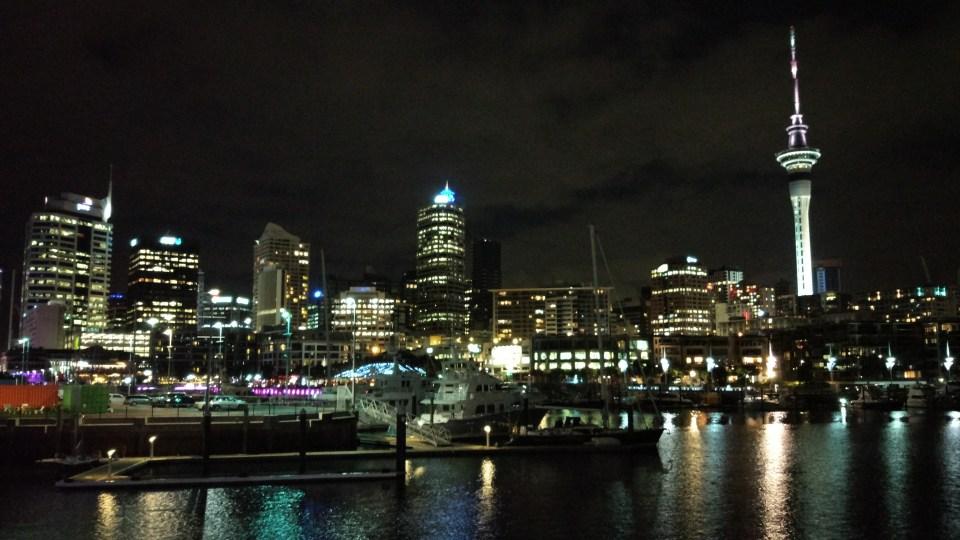 Auckland Skyline Wynyard Quarter