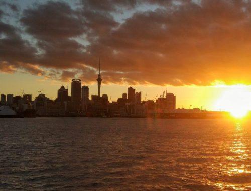 Auckland After Work Sunset