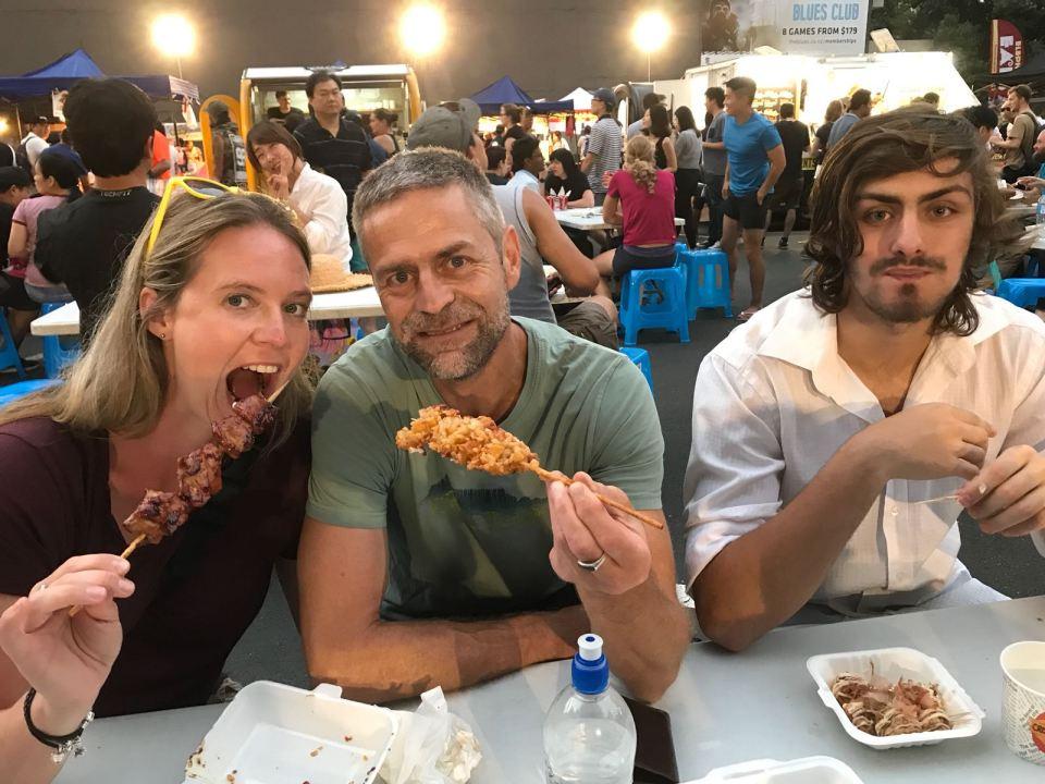 Auckland Night Market Dinner