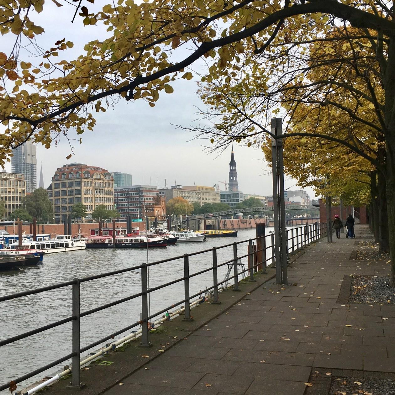 Hamburg Germany after work