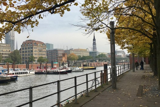 Hamburg Germany after work