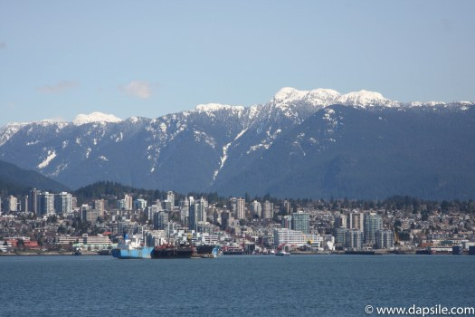 vancouver in the afternoon