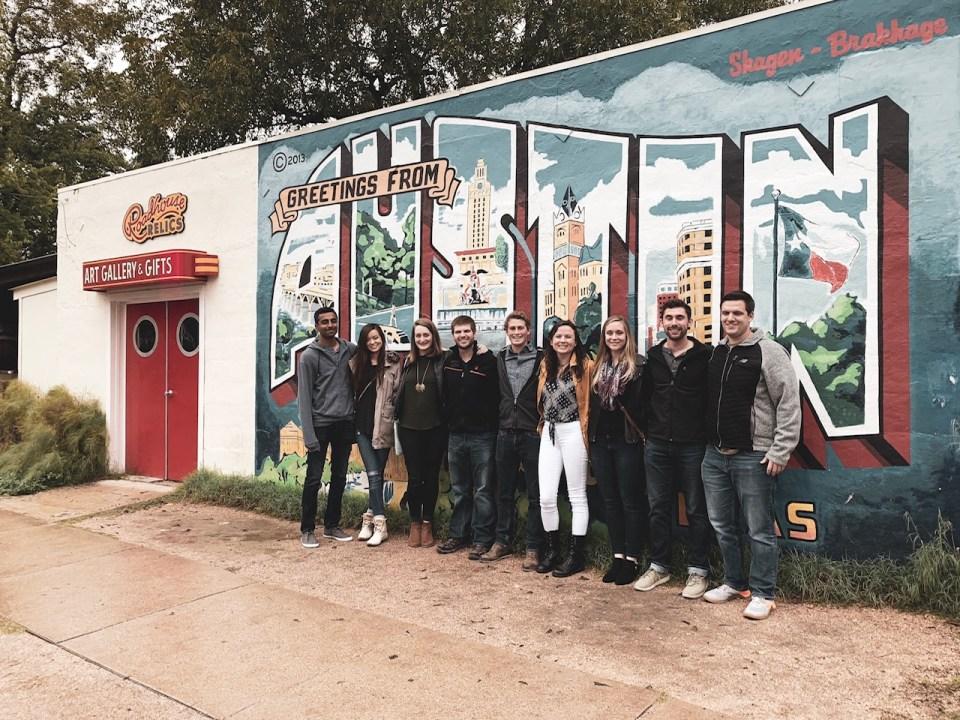 Formula 1 Austin Group Trip Itinerary