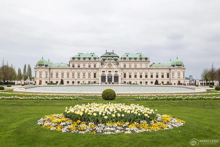 Belvedere, Viena na primavera