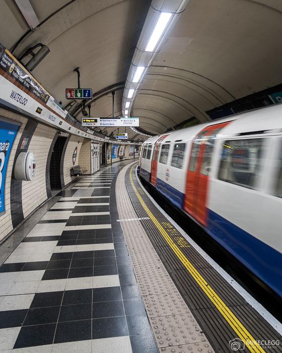 London Tube Platform