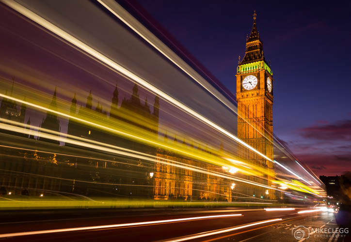 Westminster longa exposição