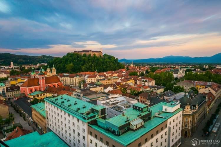 Imagem em destaque de Ljubljana