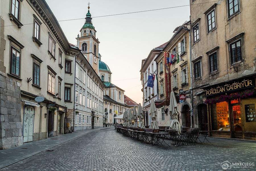 Cidade velha de Liubliana