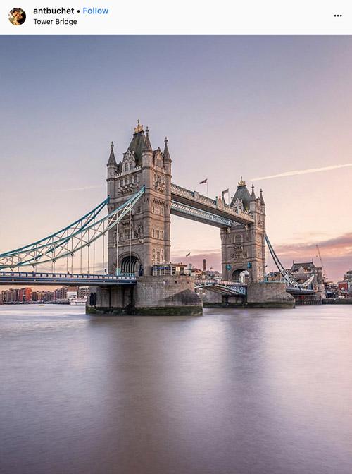 Fotógrafos do Instagram de Londres - @antbuchet