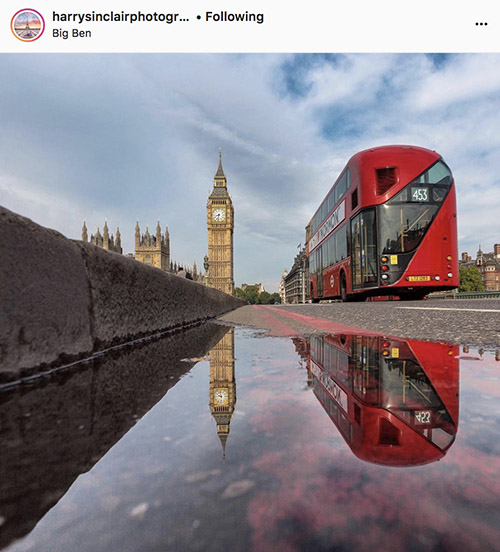 Fotógrafos do Instagram de Londres - @harrysinclairphotography