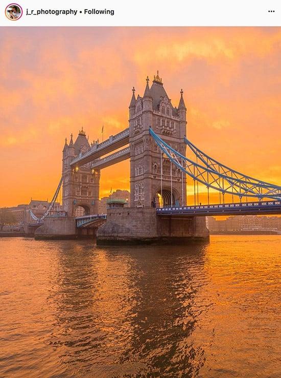 Fotógrafos do Instagram de Londres - @j_r_photography