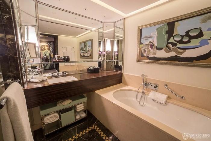 Casa de banho no quarto Art Deco, Prince de Galles