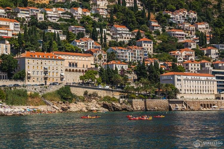 Caiaque em Dubrovnik
