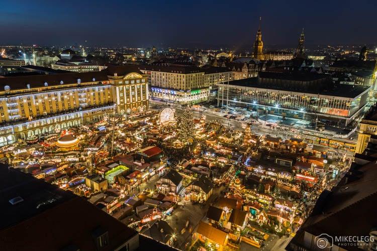Dresdner Striezelmarkt High View