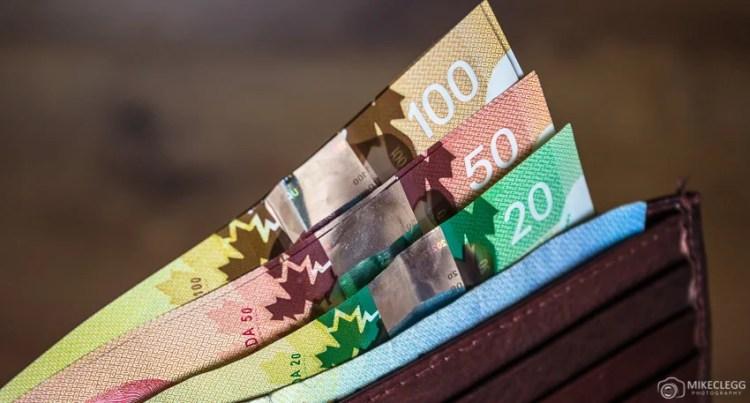 Dinheiro e viagens