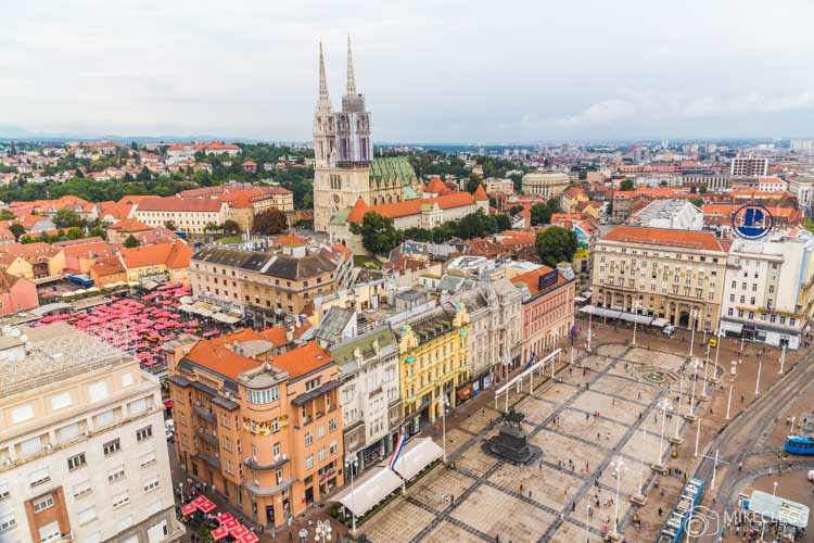 Vista de Zagreb 360 °