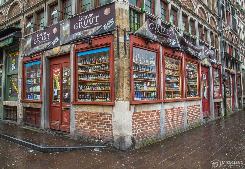 Lojas de cerveja na Bélgica