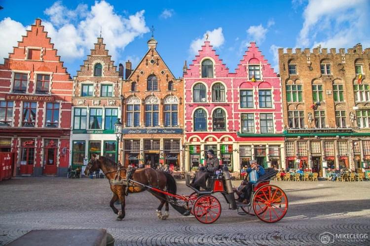 Ruas de Bruges, Bélgica