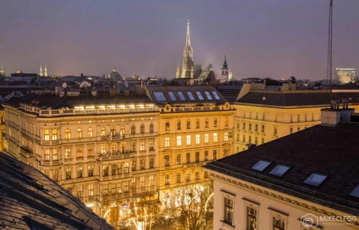 Vista de Viena do Ritz Carlton